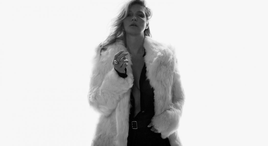Gdy spotykają się dwie legendy świata mody, czyli Kate Moss w nowej kampanii Saint Laurent