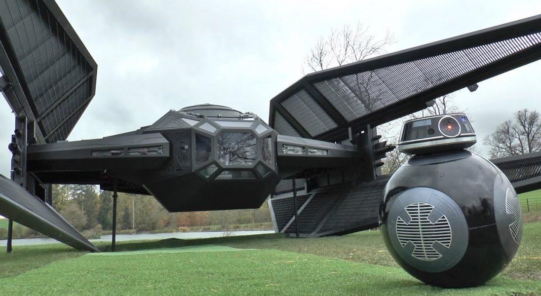 Chcielibyście zobaczyć myśliwiec Tie Fighter z Gwiezdnych Wojen na żywo? Pewien YouTuber sprawił, że to możliwe