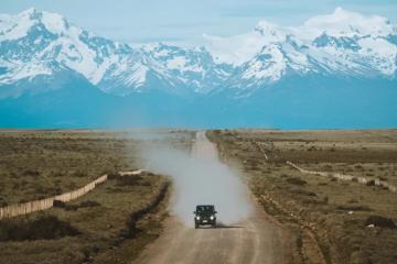 Dajcie się oczarować pięknym widokom Patagonii razem z Mercedes-Benz<