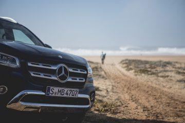 Nowy ambasador Mercedes-Benz X-Class na tropie największej fali świata