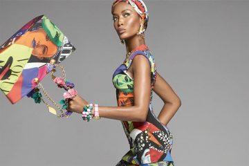 Naomi Campbell, Christy Turlington i Gisele zostały gwiazdami najnowszej kampanii Versace<