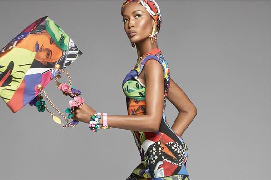 Naomi Campbell, Christy Turlington i Gisele zostały gwiazdami najnowszej kampanii Versace