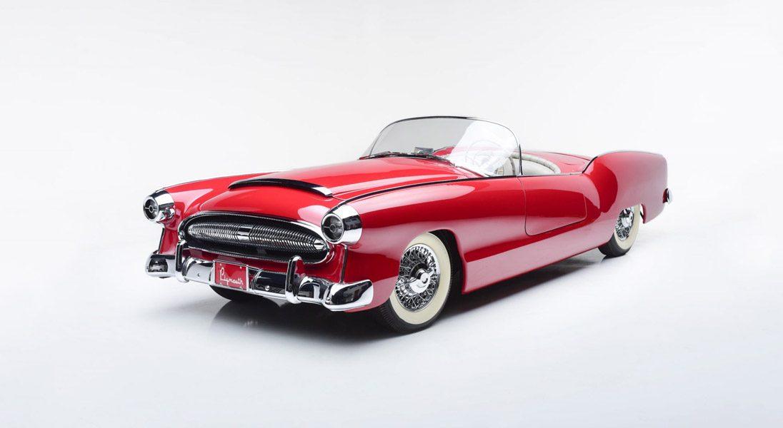 Oto Plymouth Belmont - samochód koncepcyjny, który powstał ponad 60 lat temu