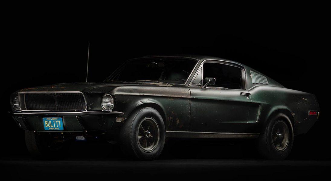 Oto oryginalny Ford Mustang Bullitt z 1968 roku, odnaleziony po 40 latach