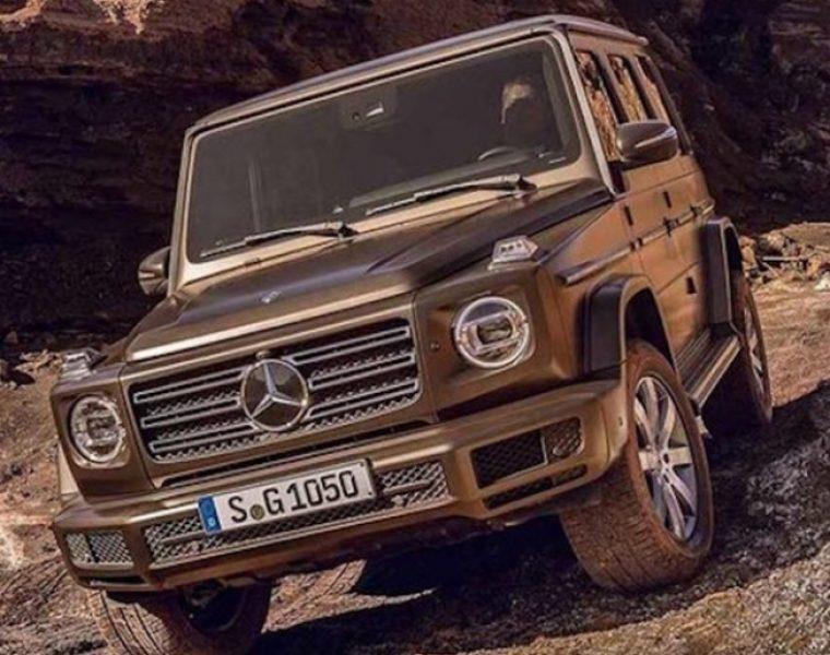 Pierwsze zdjęcia nowej generacji Mercedesa klasy G już są!