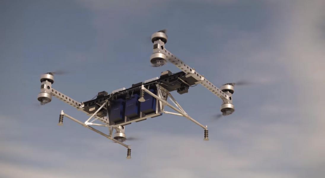 Boeing pokazał ogromnego drona, który jest w stanie unieść ładunek o wadze 225 kg