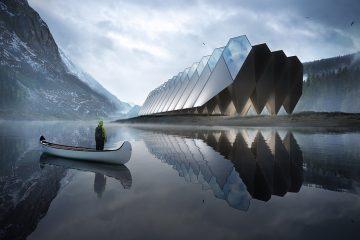 Projekt Hotelu Tetra wygląda tak, jakby miał powstać na innej planecie