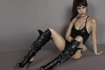 Buntownicza Bella Hadid została twarzą nowej kampanii Giuseppe Zanotti<