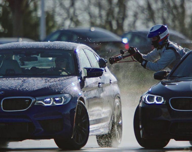 BMW M5 ustanowiło rekord świata w najdłuższym drifcie