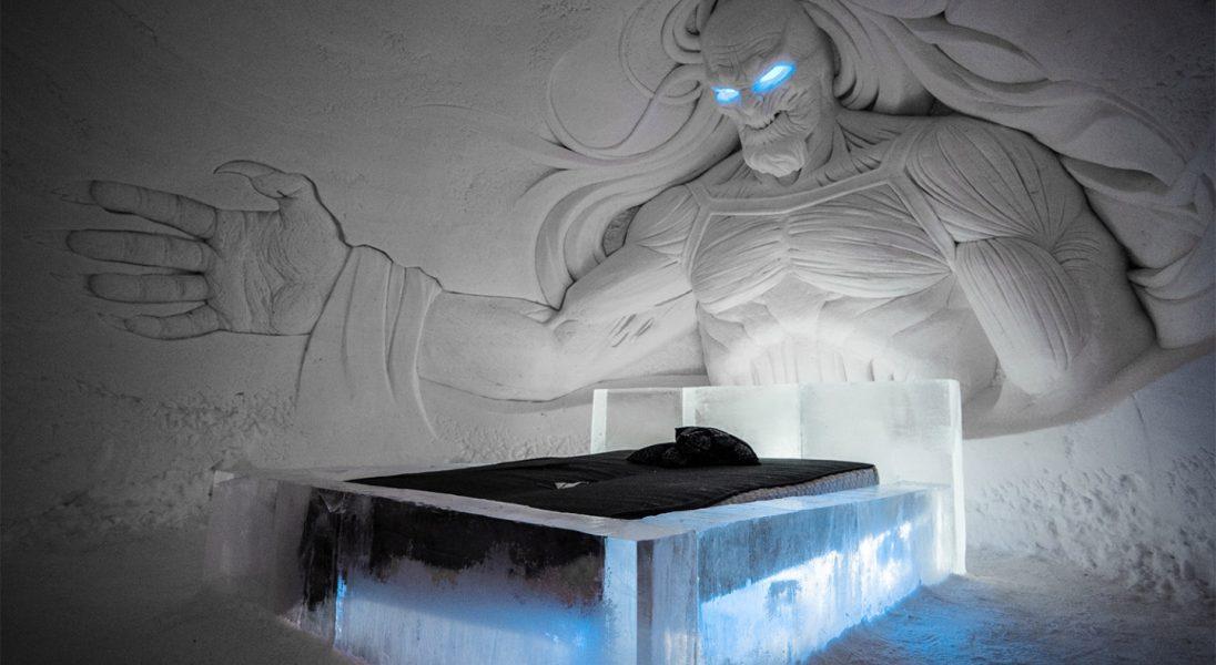 Spędź noc w lodowym hotelu HBO z postaciami z Gry o Tron