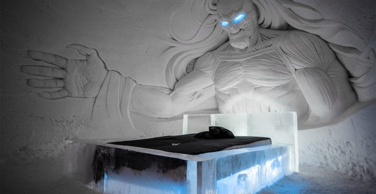 Spędź noc w lodowym hotelu HBO z postaciami z Gry o Tron<