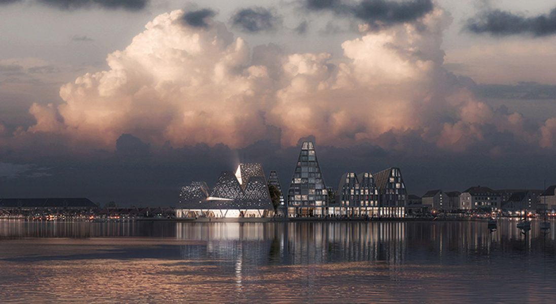 Oto niezwykły projekt Centrum Kultury w Kopenhadze. Inspiracją były piramidy