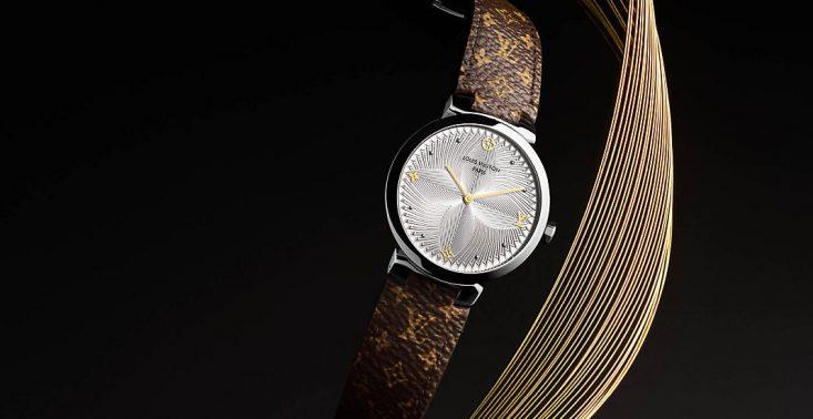 9bc527b747db8 Tambour Slim Metallic Flower od Louis Vuitton to elegancki zegarek dla  kobiet, który robi wrażenie