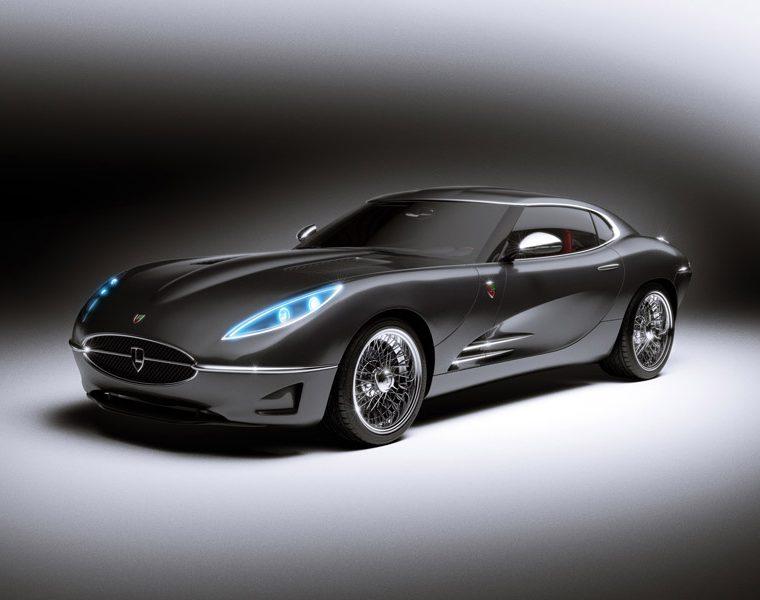 Lyonheart K to wariacja na temat Jaguara E-type. Stylowe podobieństwo widać na pierwszy rzut oka