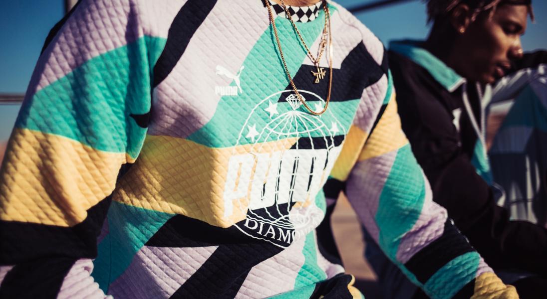 PUMA i Diamond Supply łączą skate'owe i sportowe wpływy w
