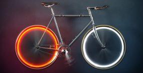 Zamiast lampki, smuga światła. System oświetlenia Arara sprawi, że rower będzie wyglądał nieziemsko