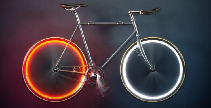 Zamiast lampki, smuga światła. System oświetlenia Arara sprawi, że rower będzie wyglądał nieziemsko<
