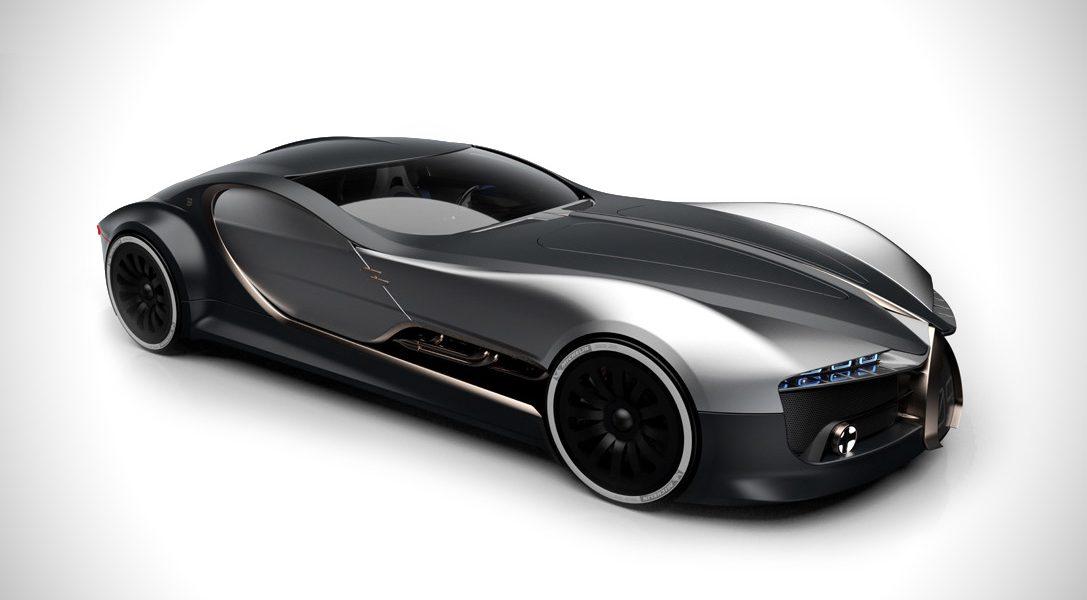Ten przepiękny koncept to hołd dla ponadczasowego Bugatti Type 57