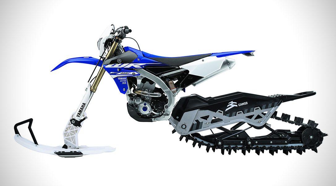 Oto skuter śnieżny Camso, na którym poszalejesz tak, jak na motocyklu crossowym