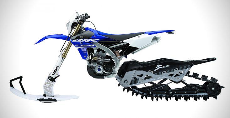 Oto skuter śnieżny Camso, na kt&oacute;rym poszalejesz tak, jak na motocyklu crossowym<