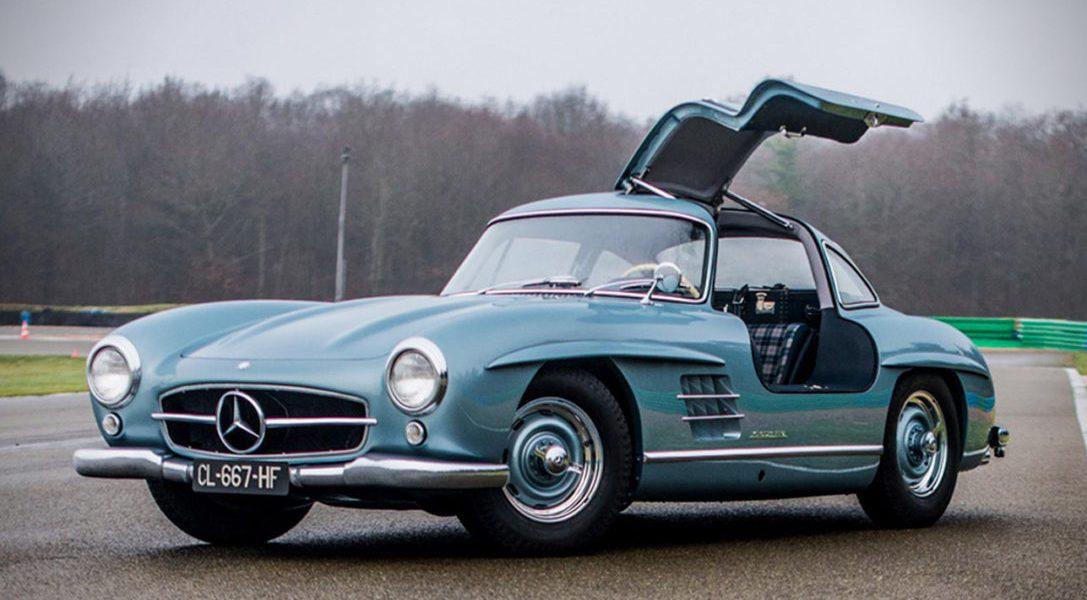 Ten urzekający Mercedes Benz 300 SL Gullwing należał kiedyś do Paula Newmana