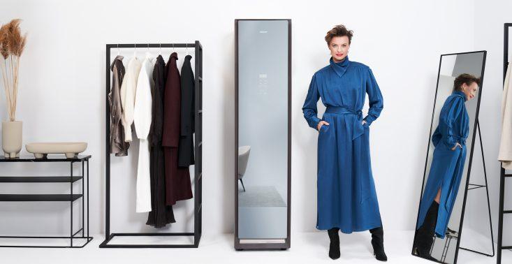Kupujesz jakościowe ubrania? Zadbaj o nie z szafą odświeżającą ubrania Samsung AirDresser<