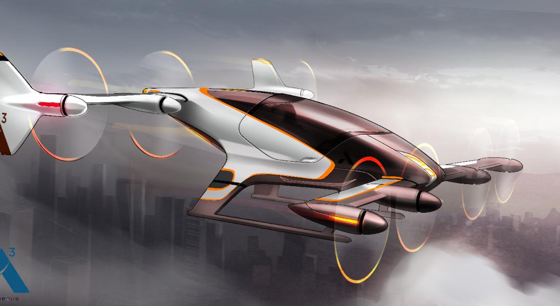Airbus przeprowadził test latającej taksówki. Będzie konkurencją dla UberAir?