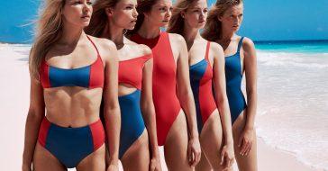 Zobaczcie nową kampanię Solid & Striped z udziałem plejady supermodelek