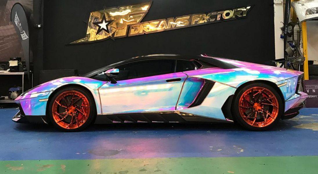 Najnowsze Lamborghini 2018 Mechaniker