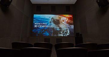 Samsung prezentuje pierwszy na świecie ekran 3D Cinema LED