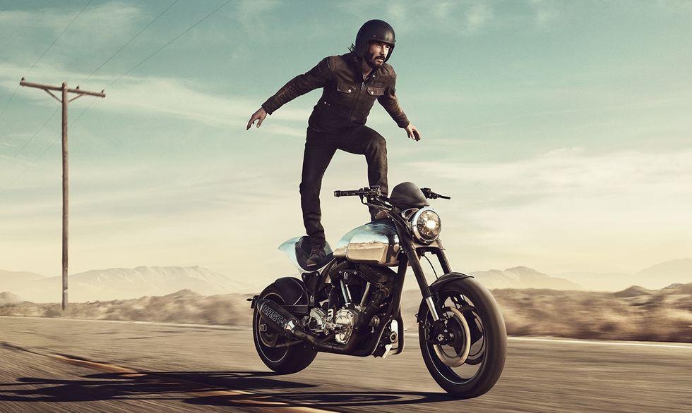 Gorszy dzień? Zobaczcie Keanu Reevesa w bardzo dziwnej reklamie Squarespace