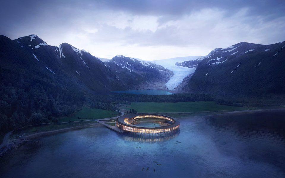 W Norwegii powstanie pierwszy na świecie hotel wykorzystujący energię słoneczną. Projekt jest niesamowity