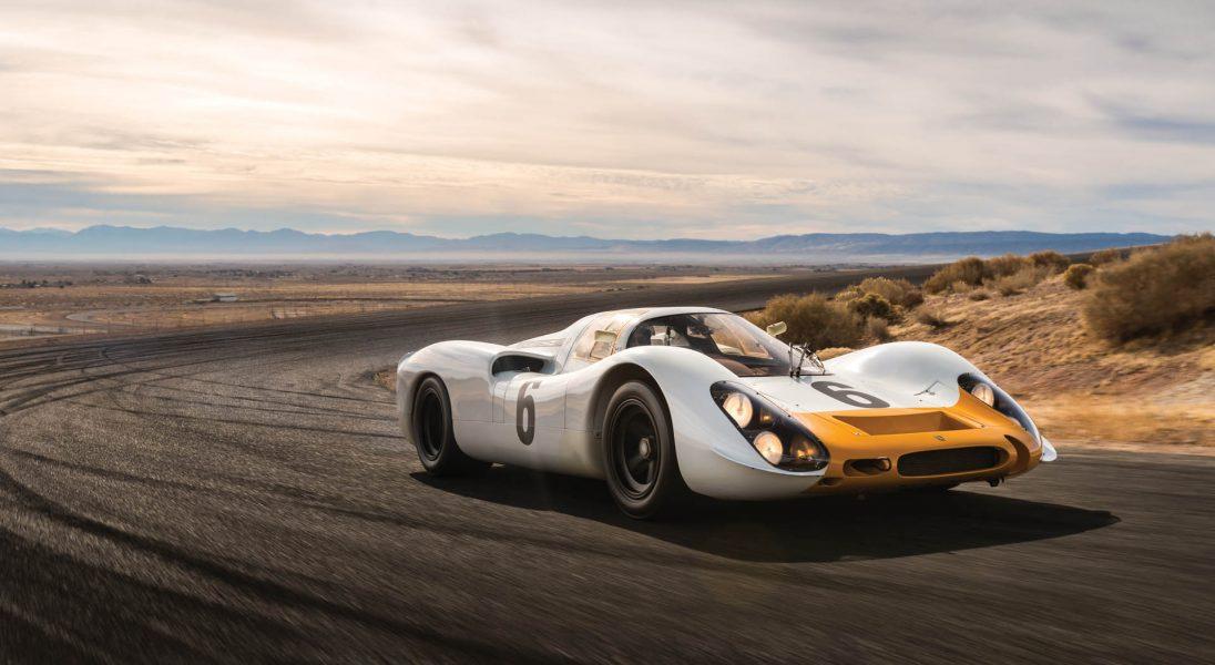 Porsche 908-010 z 1968 roku dostało drugie życie i teraz trafi na aukcję