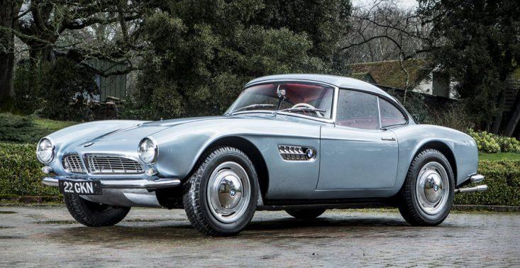 Odpowiedź na Mercedesa 300SL, czyli BMW 507 Roadster z 1957 roku zostanie sprzedane z ponad 2 miliony euro<