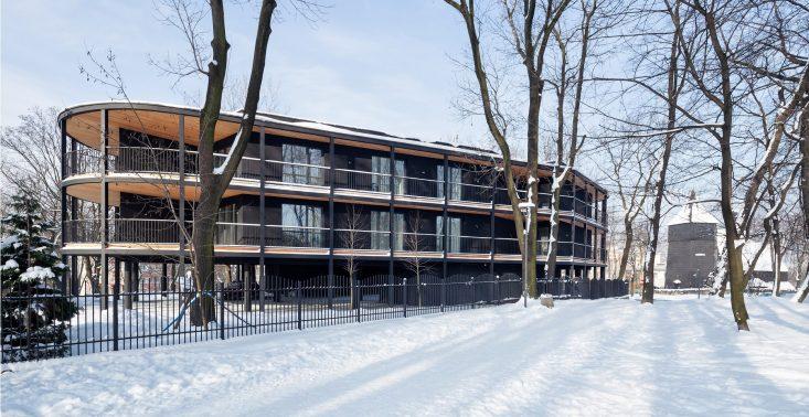 Ekologiczna architektura w Polsce - chorzowska Villa Reden (projekt: Franta Group)<
