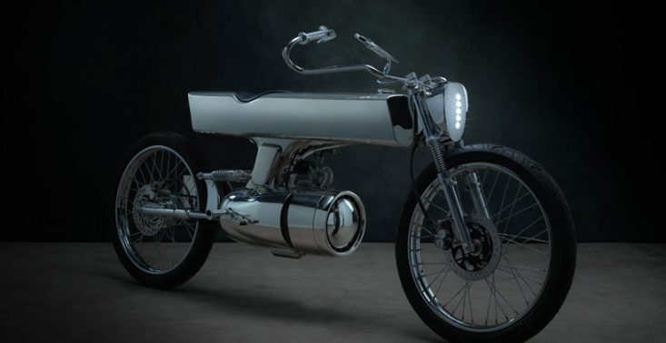 L-Concept od Bandit9 to motocykl inspirowany statkiem kosmicznym ze Star Treka<
