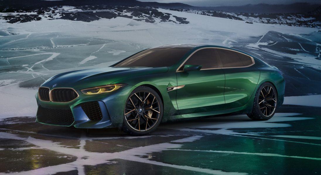 Nacieszcie oczy pięknym konceptem BMW M8 Gran Coupe