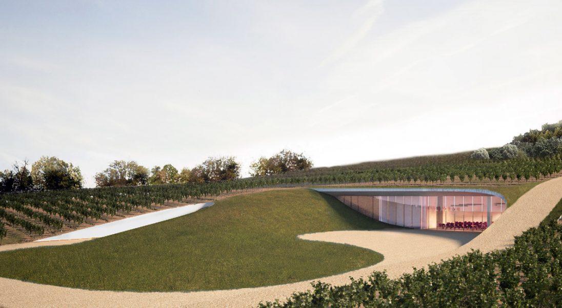 Zobaczcie projekt winnicy, która idealnie komponuje się z pagórkowatym krajobrazem Toskanii