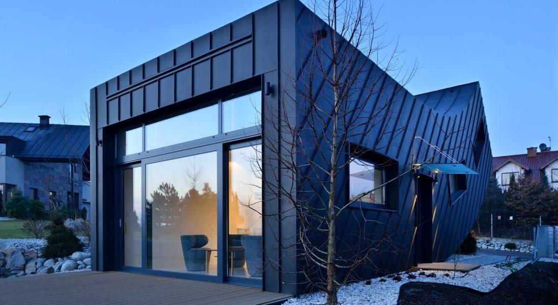 W Krakowie powstał świetnie zaprojektowany dom dla singla