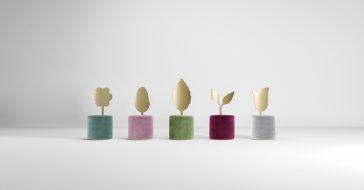 Aksamitne krzesła od Secolo XXI inspirowane naturą ożywią każde wnętrze