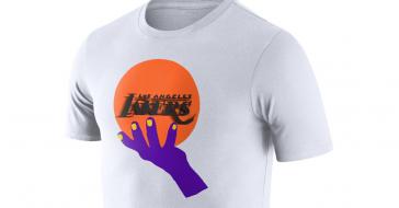 Filip Pągowski zaprojektował serię koszykarskich koszulek dla Nike z nowymi symbolami znanych drużyn
