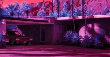 Zobaczcie niesamowitą serię zdjęć w podczerwieni ukazującą nowe oblicze Palm Springs
