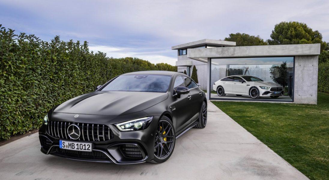 Mercedes-AMG GT 4-Door Coupé to samochód dla rodziny, która lubi szybką jazdę