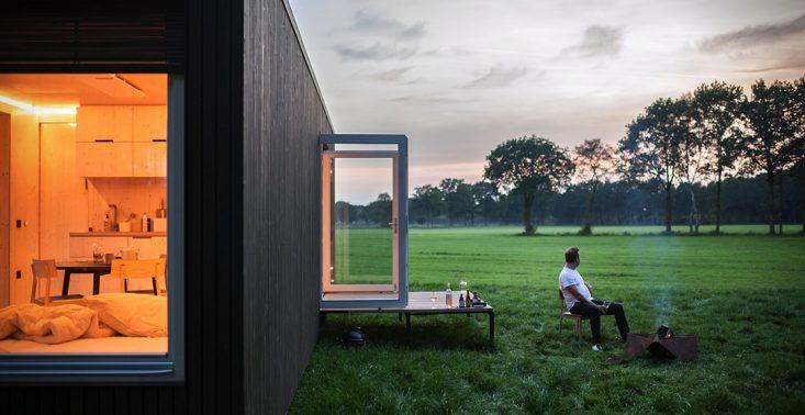 Startup zbudował przepiękne kabiny, ale nie chce zdradzać, gdzie są zlokalizowane<