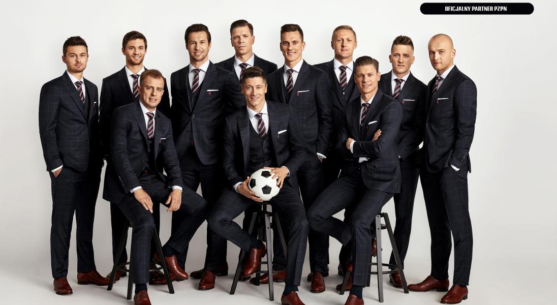 Vistula stworzyła formalny strój  Reprezentacji Polski w piłkę nożną  na Mistrzostwa Świata 2018