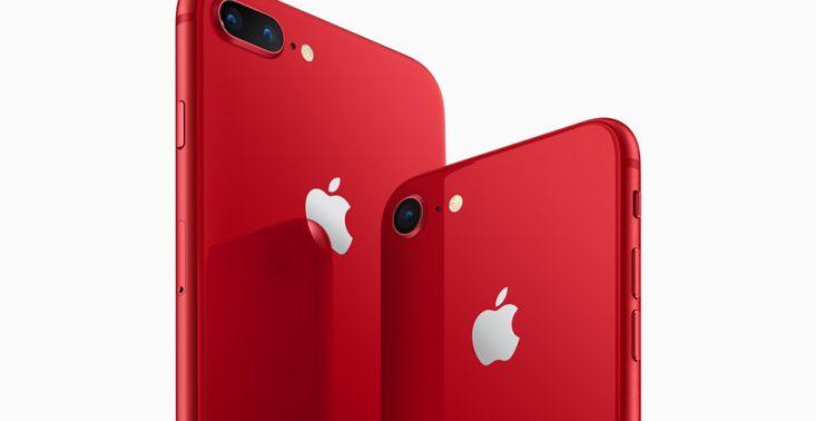 [Aktualizacja] Czerwony iPhone 8 i 8 Plus pojawi się w sprzedaży jeszcze w tym tygodniu<