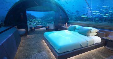Podwodna willa na Malediwach oferuje pobyt w cenie 50 000 tysięcy dolarów za noc