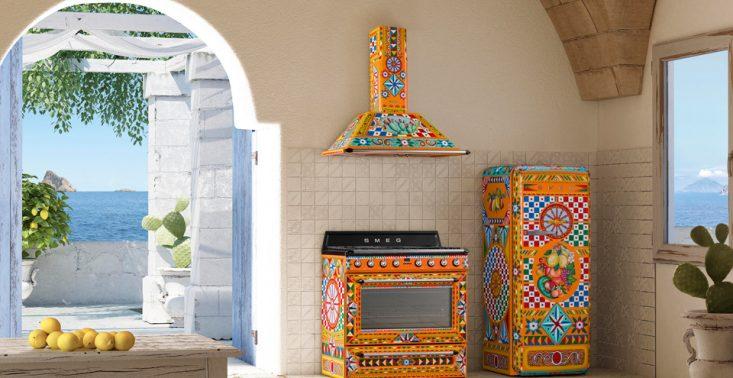 Sycylia w kuchni dzięki nowej kolekcji sprzęt&oacute;w od Dolce&amp;Gabbana i Smeg<