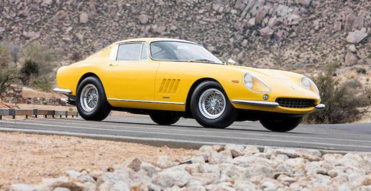 Ferrari 275 GTB/4 z 1967 wyceniono na 11 milion&oacute;w dolar&oacute;w. Jest w idealnym stanie<