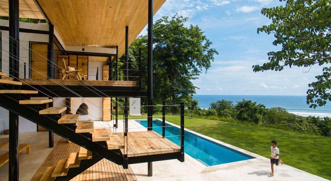 Ocean Eye House to energooszczędny dom nad brzegiem Oceanu Spokojnego